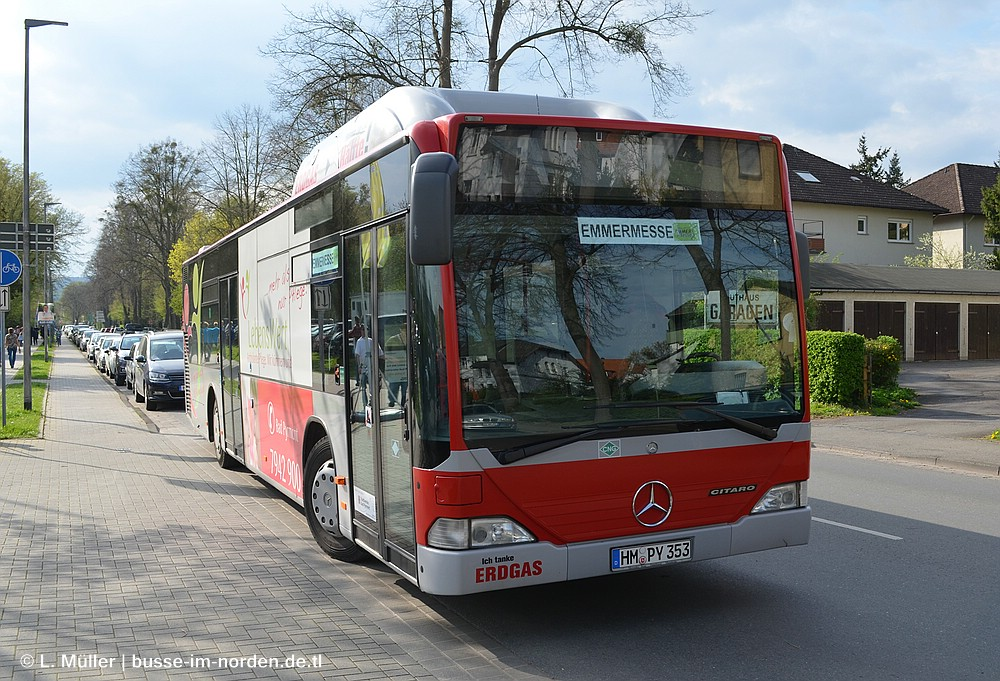 Germany, Mercedes-Benz O530 Citaro CNG # 353