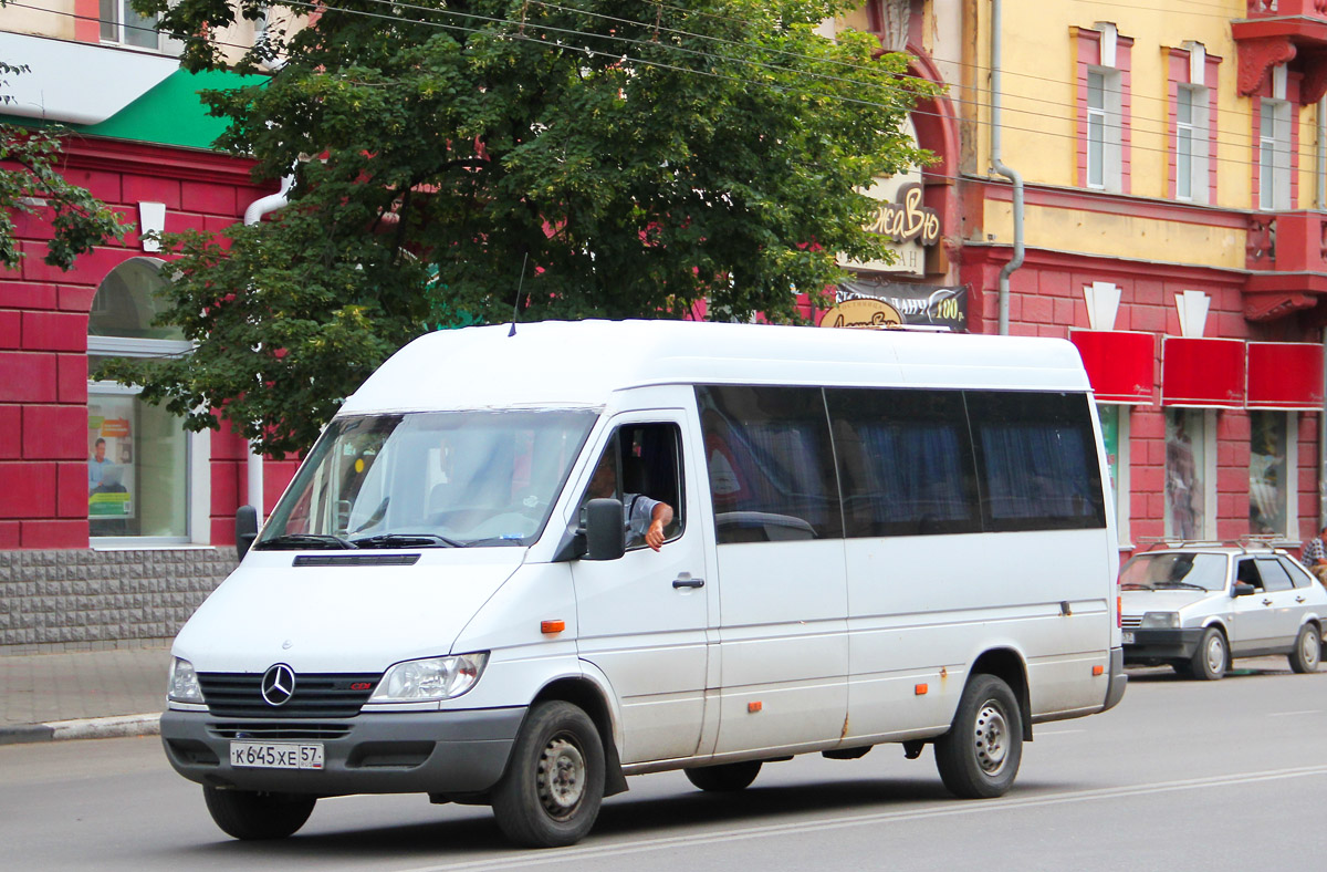 Oryol region, Mercedes-Benz Sprinter 311CDI # К 645 ХЕ 57