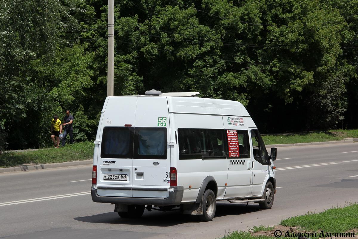 Ростовская область, Нижегородец-222702 (Ford Transit) № 151