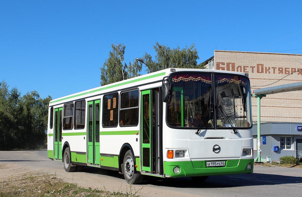 Ryazan region, LiAZ-5256.35 # А 195 РЕ 62