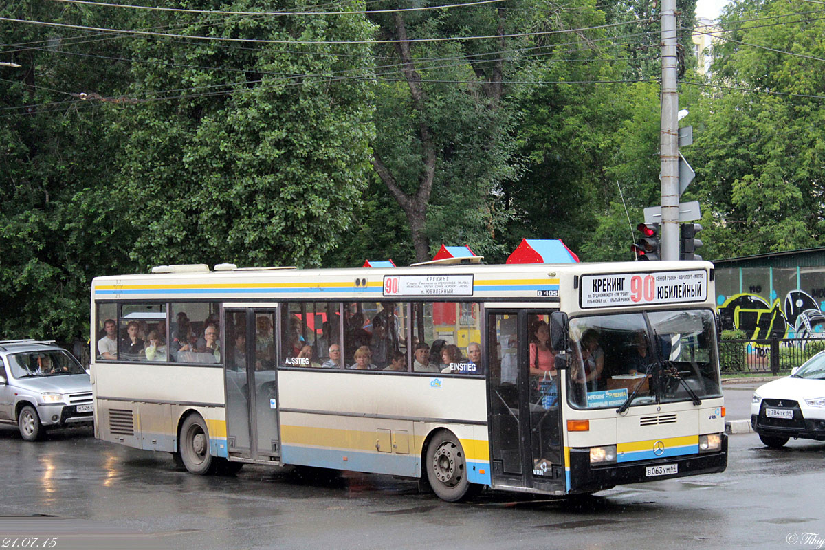 Saratov region, Mercedes-Benz O405 # В 063 УМ 64