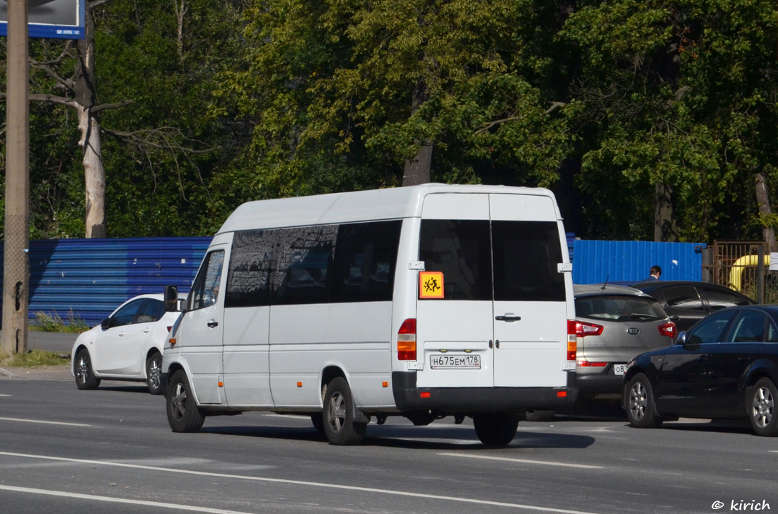 Saint Petersburg, Mercedes-Benz Sprinter 311CDI # Н 675 ЕМ 178