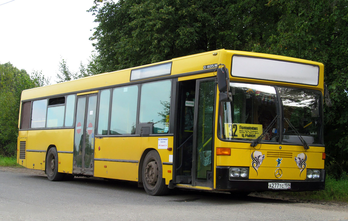 Perm region, Mercedes-Benz O405N2 # А 277 ТС 159