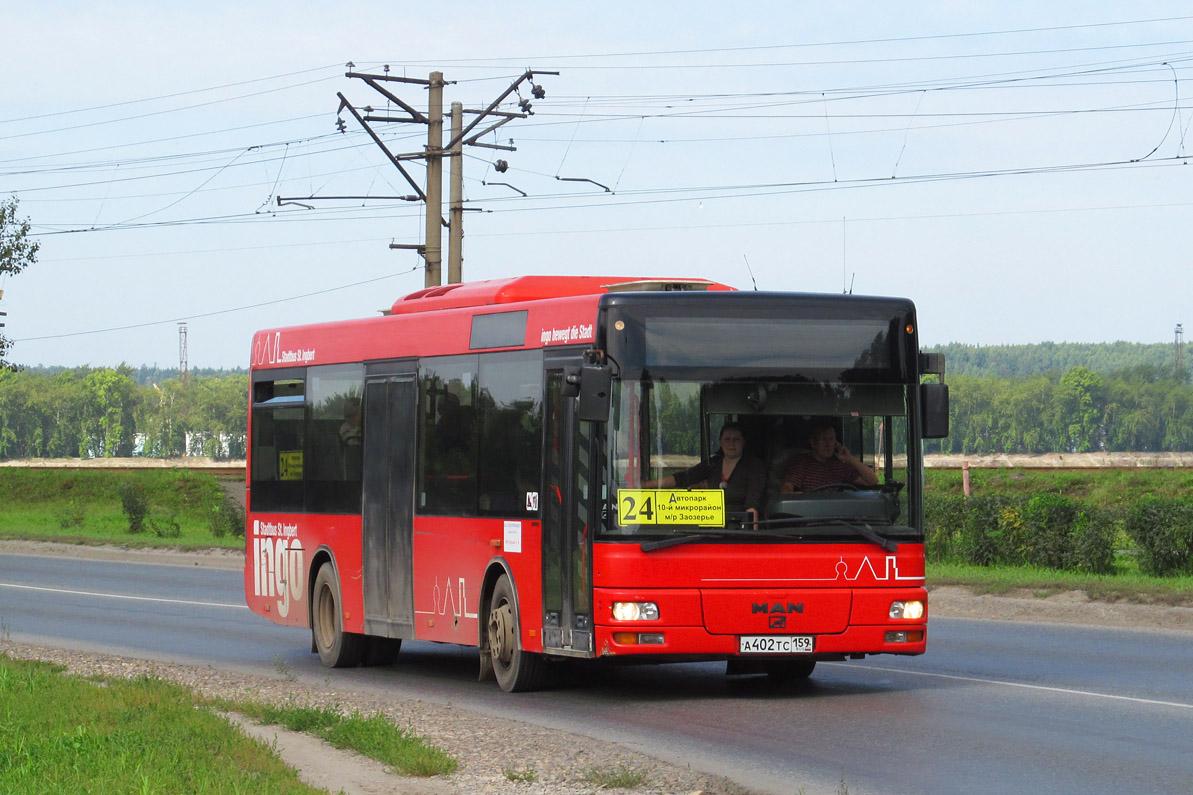 Perm region, Göppel (MAN A76 NM223.2) # А 402 ТС 159