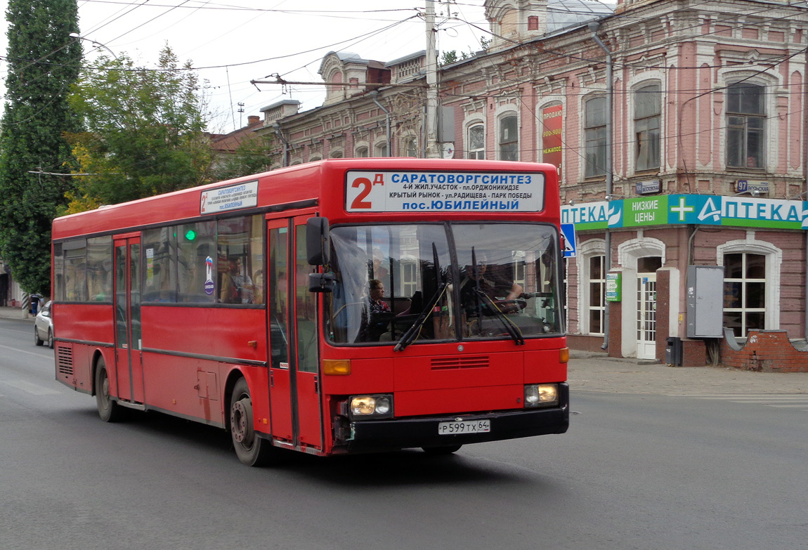 Saratov region, Mercedes-Benz O405 # Р 599 ТХ 64