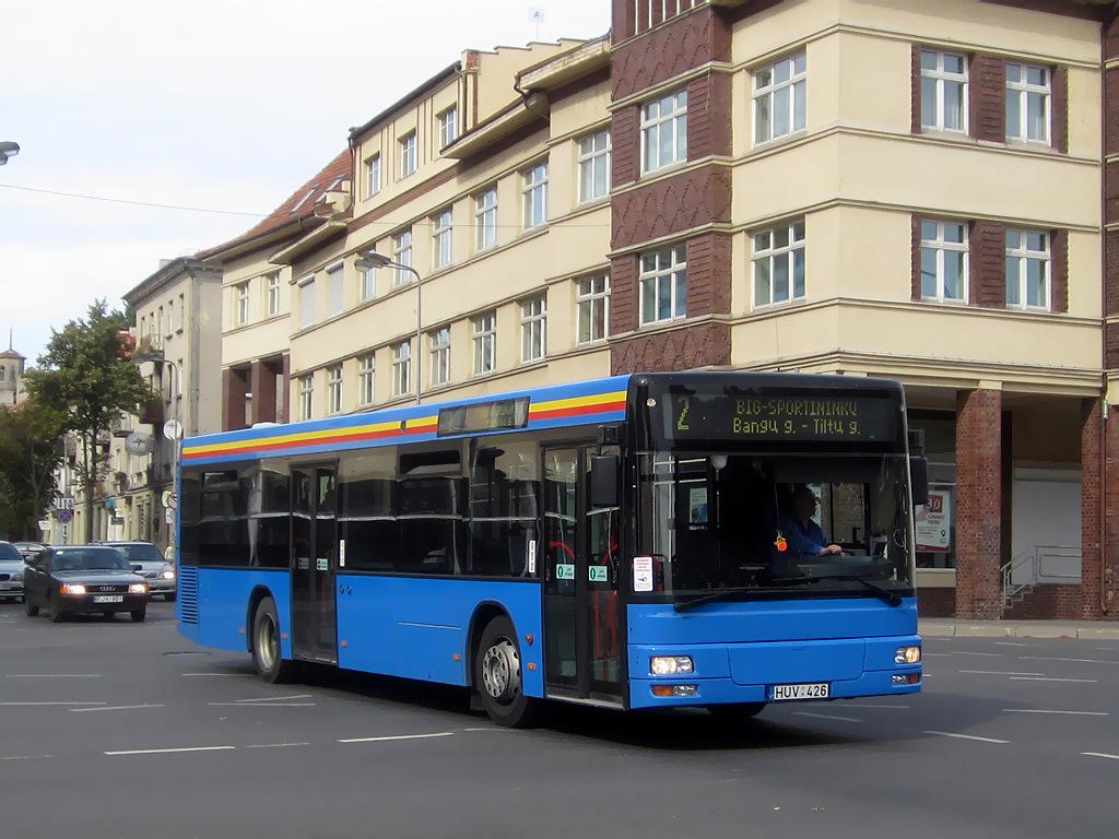 Lithuania, MAN A21 NL223 # HUV 426
