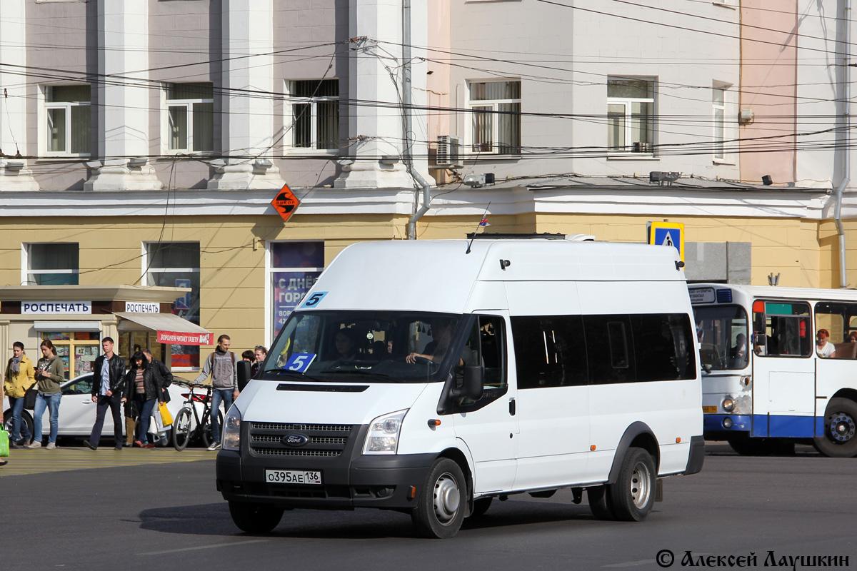 Voronezh region, Avtodom (Ford Transit) # О 395 АЕ 136