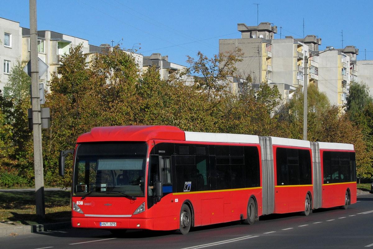 Литва, Van Hool New AGG300 № 838