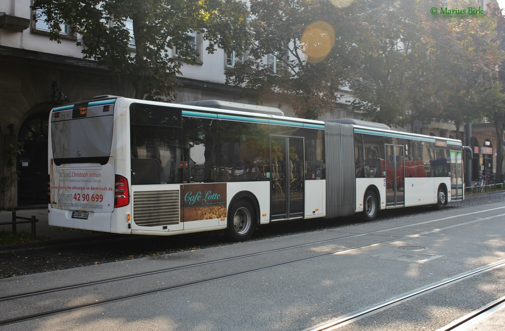 Germany, Mercedes-Benz O530 Citaro G # DA-AK 206