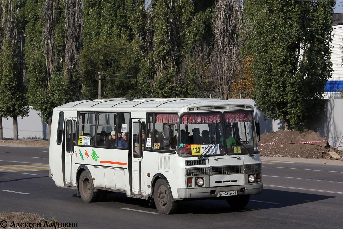 Voronezh region, PAZ-4234 (00, T0, K0, B0) # Н 193 СМ 36