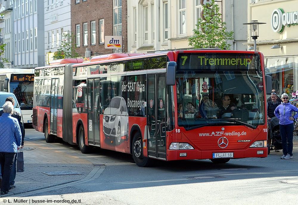 Germany, Mercedes-Benz O530 Citaro G # 18