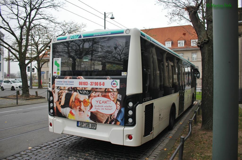 Germany, VDL Citea LLE-120.225 # SP-VB 89
