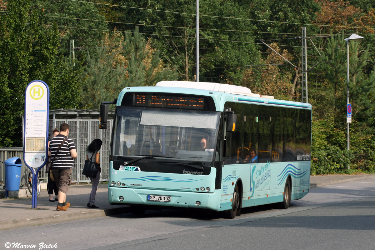 Germany, VDL Berkhof Ambassador 200 # SP-VB 102