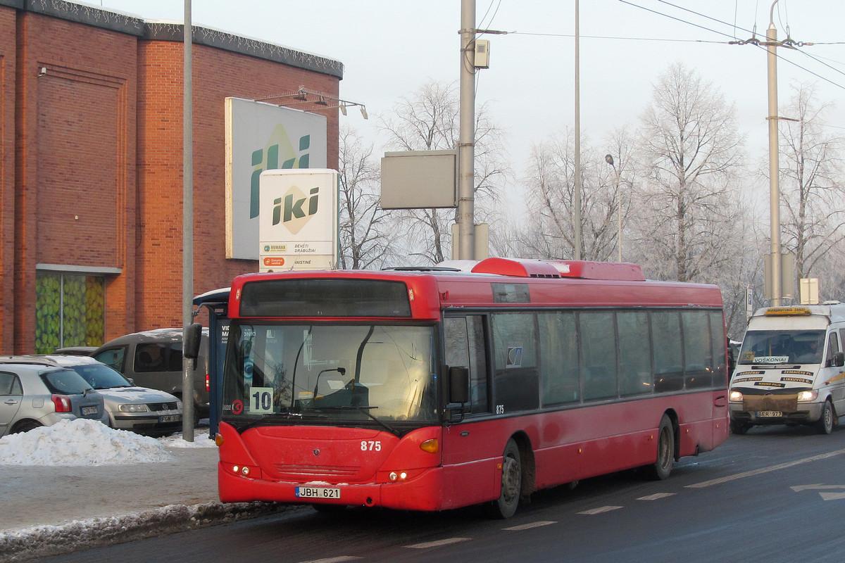 Lithuania, Scania OmniCity CN230UB 4x2 EB # 875