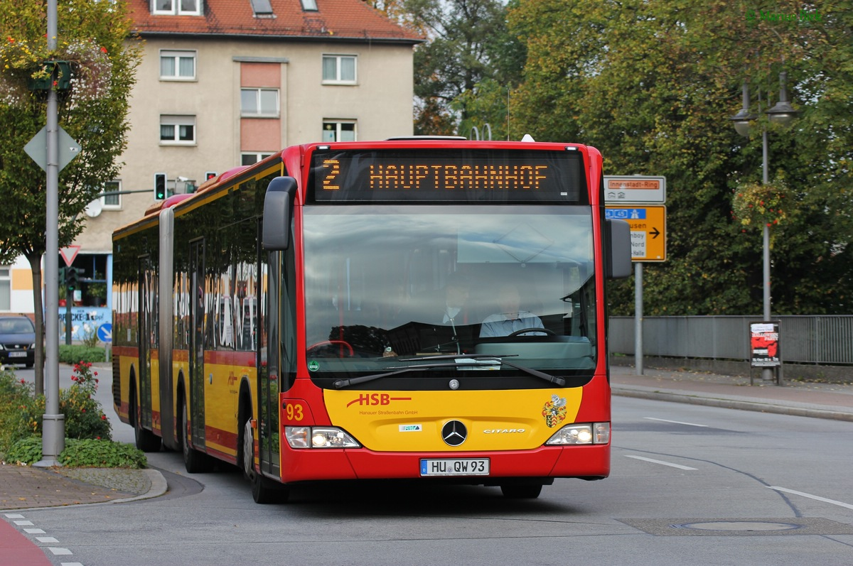 Germany, Mercedes-Benz O530 Citaro G # 93