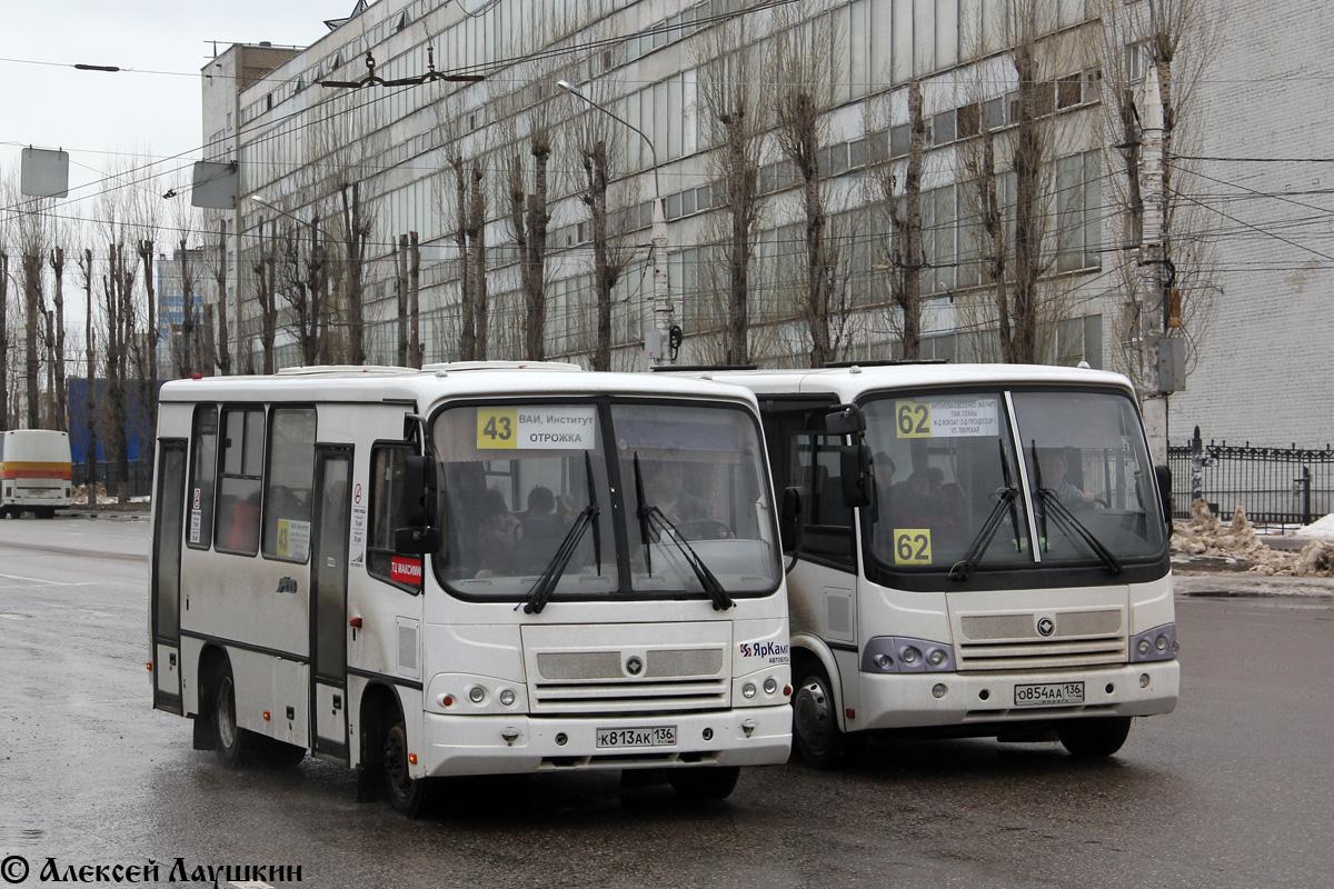 Voronezh region, PAZ-320302-08 (2H, 2U) # К 813 АК 136