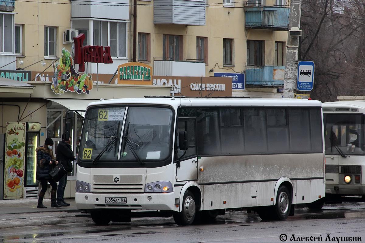 Воронежская область, ПАЗ-320412-04  (CP, CS) № О 854 АА 136
