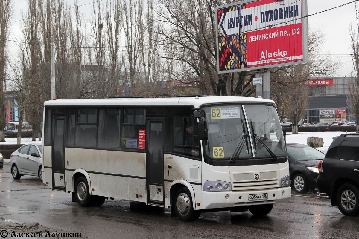 Voronezh region, PAZ-320412-04  (CP, CS) # О 854 АА 136