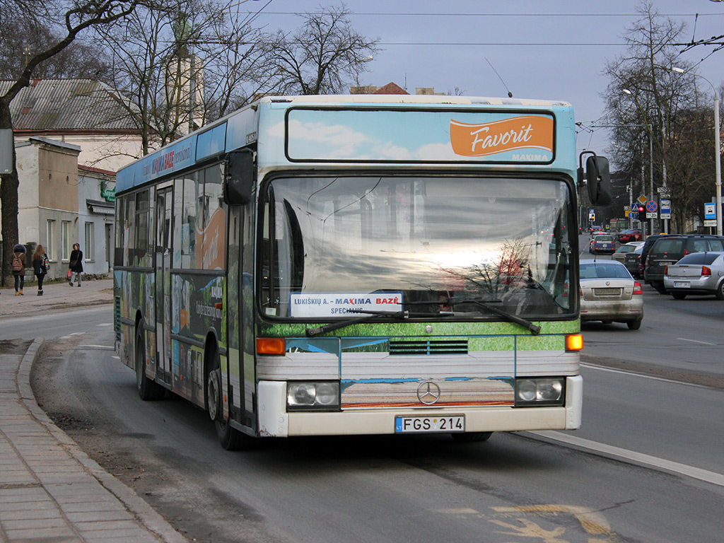 Lithuania, Mercedes-Benz O405N # 121