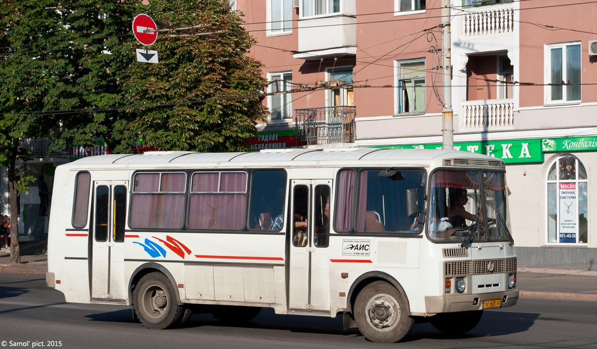 Dnepropetrovsk region, PAZ-4234 (00, T0, K0, B0) # АЕ 8635 АА