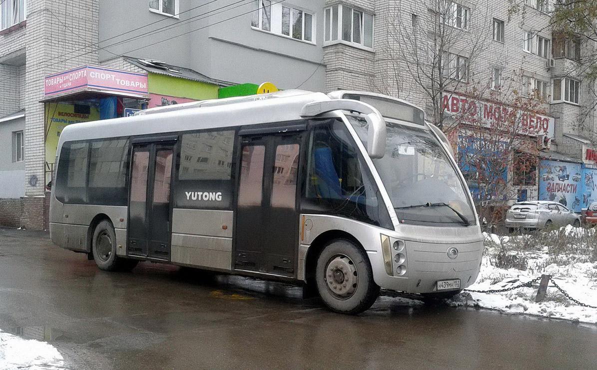 Nizhegorodskaya region, (unknown) # Н 439 МН 152