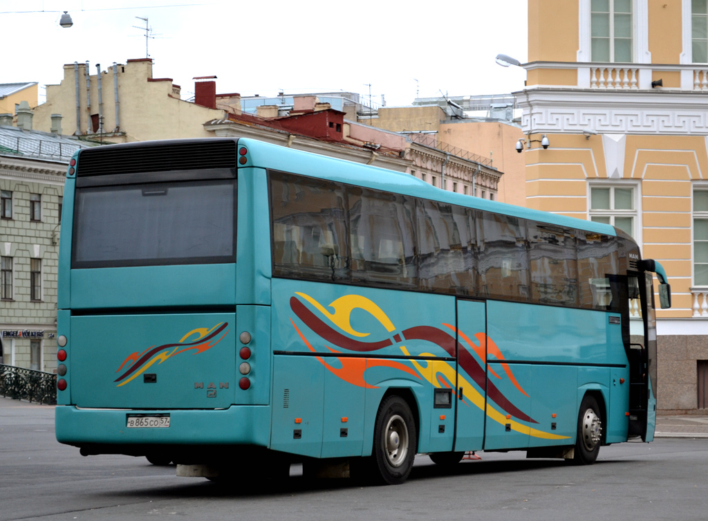 Oryol region, MAN A13 S2000 # В 865 СО 57