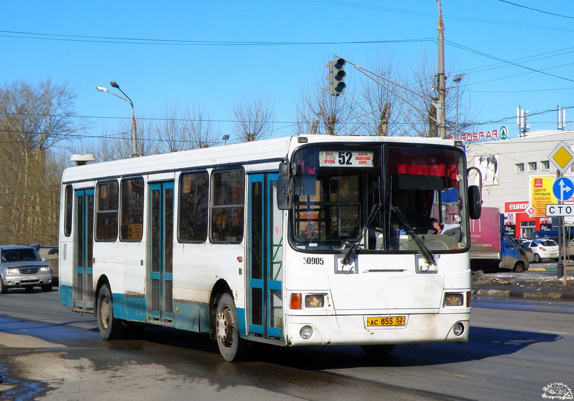 Nizhegorodskaya region, LiAZ-5256.26 # 30905