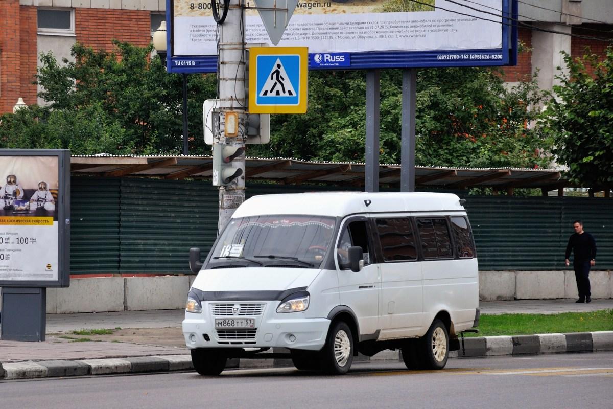Tula region, GAZ-322132 (XTH, X96) # М 868 ТТ 57
