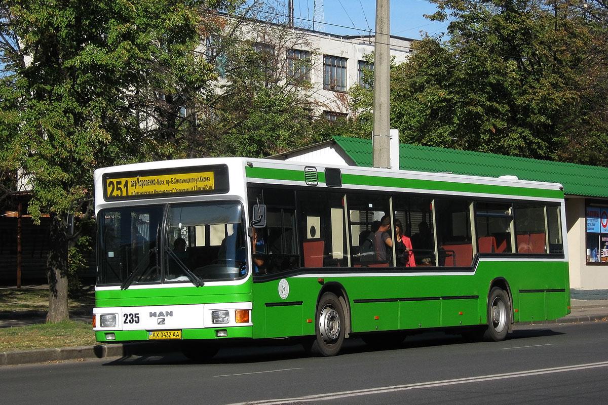 Харьковская область, MAN A10 NL202 № 235