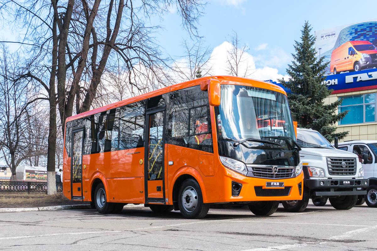 """Nizhegorodskaya region — New Buses of OOO """"PAZ"""""""