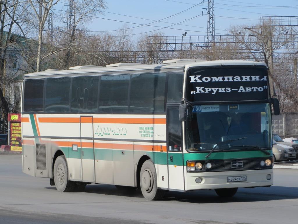 Kurgan region, Van Hool T815 Acron # Н 594 СУ 174