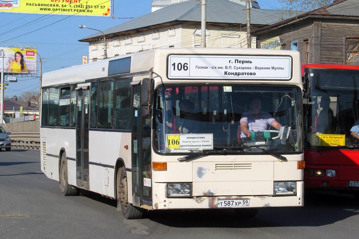 Perm region, Mercedes-Benz O405N # Т 587 ХР 59