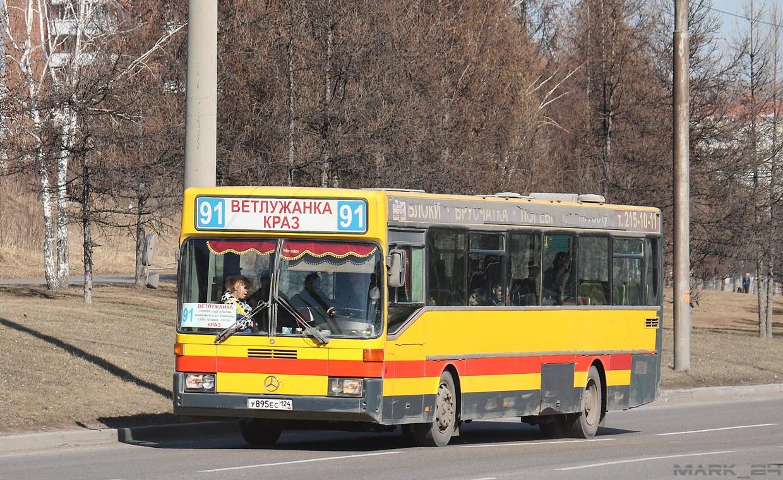 Krasnoyarsk region, Mercedes-Benz O405 # У 895 ЕС 124