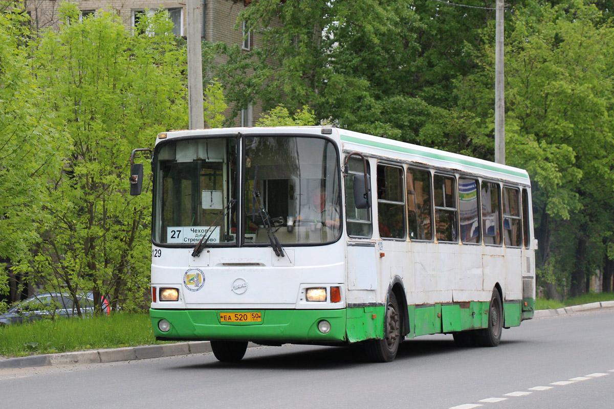Moscow region, LiAZ-5256.25 # 129