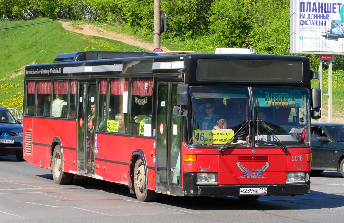 Perm region, Mercedes-Benz O405N2 # В 239 МК 159