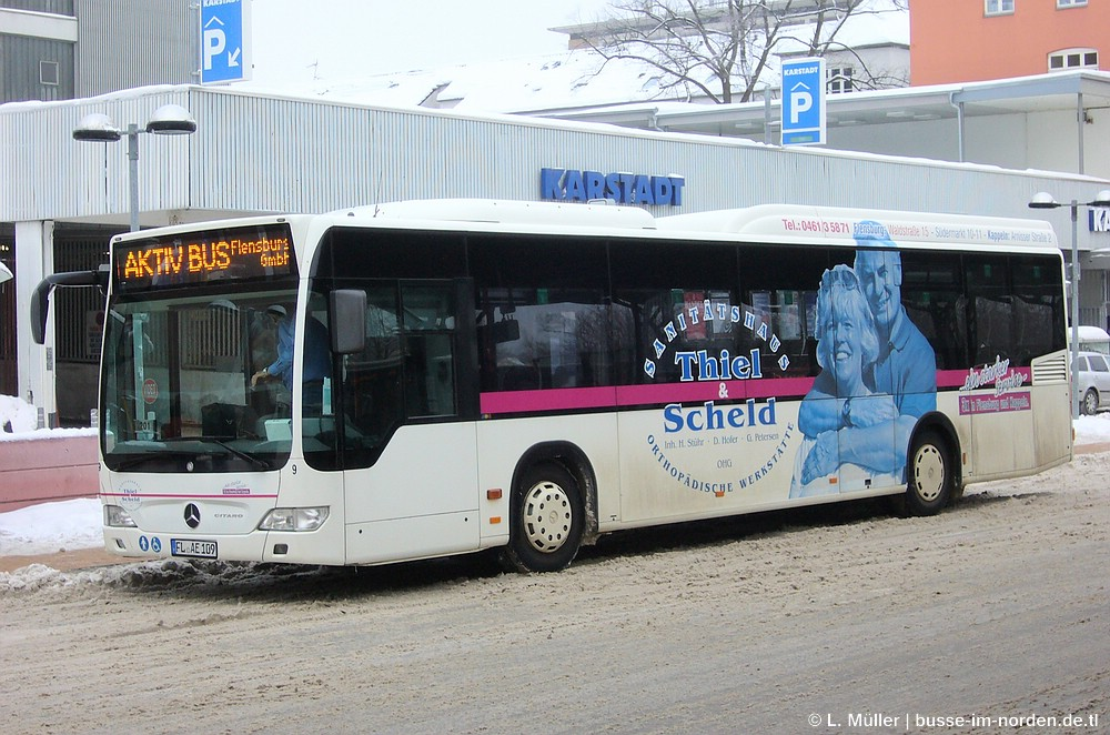 Germany, Mercedes-Benz O530 Citaro LE # 9