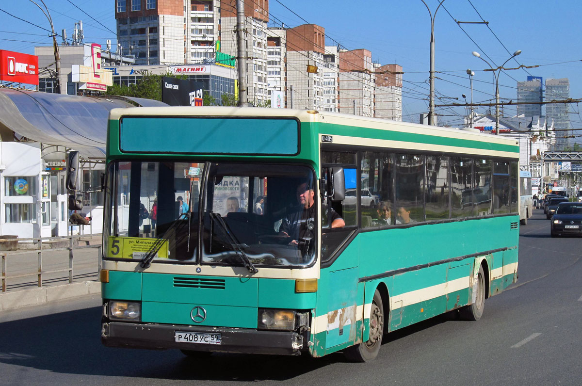 Perm region, Mercedes-Benz O405 # Р 408 УС 59