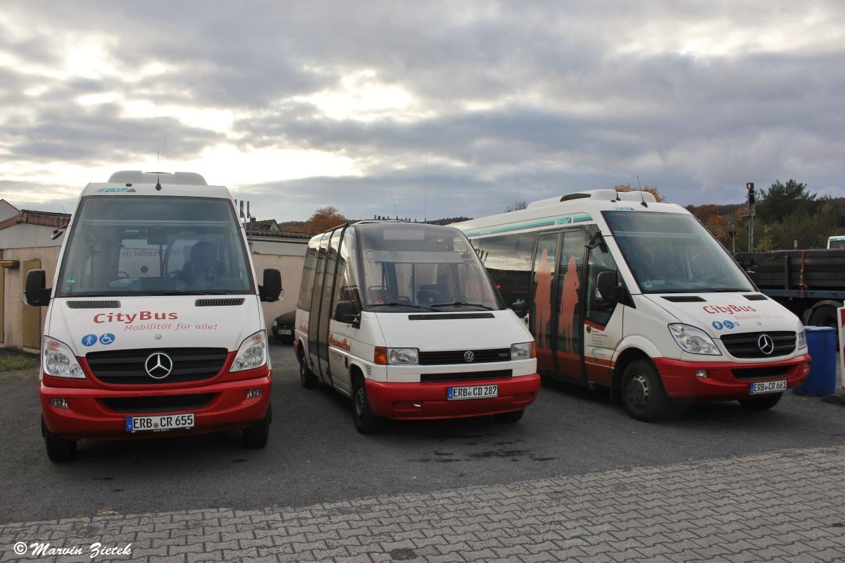 Germany, Mercedes-Benz Sprinter City 65 # ERB-CR 655; Germany, Ernst Auwärter Microstar # ERB-CD 287; Germany, Mercedes-Benz Sprinter City 65 # ERB-CR 661; Germany — Miscellaneous photos