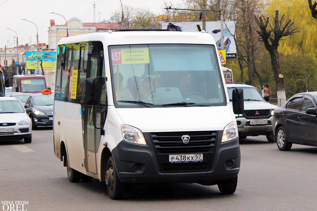 Oryol region, GAZ-A64R42 Next # Р 438 КХ 57
