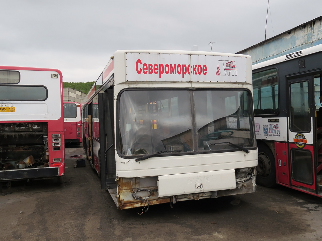 Murmansk region, MAN A10 NL202 # АВ 485 51