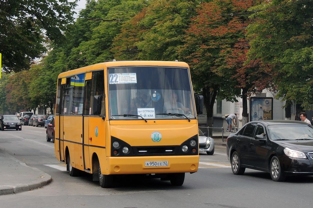Севастополь, I-VAN A07A № А 950 ЕЕ 92