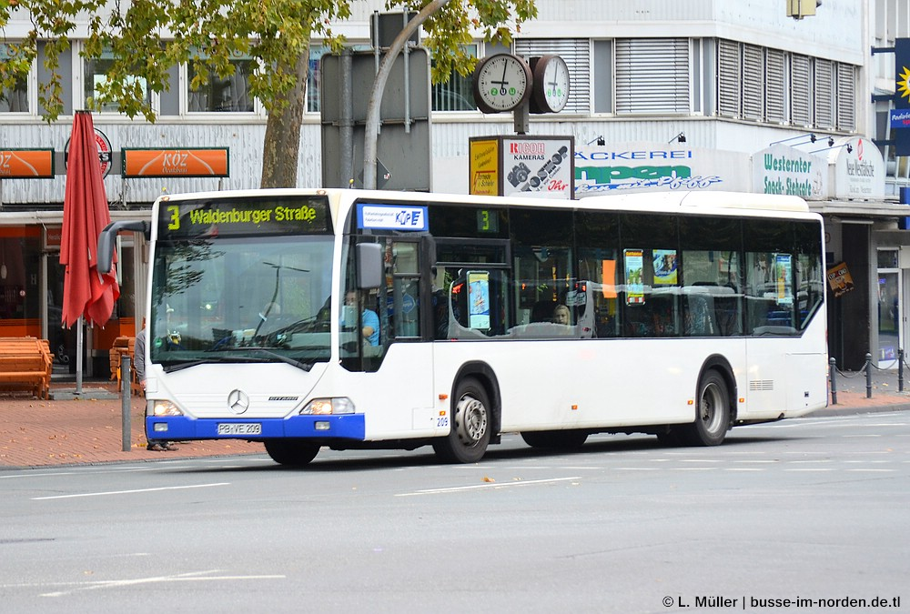 Germany, Mercedes-Benz O530 Citaro # 209