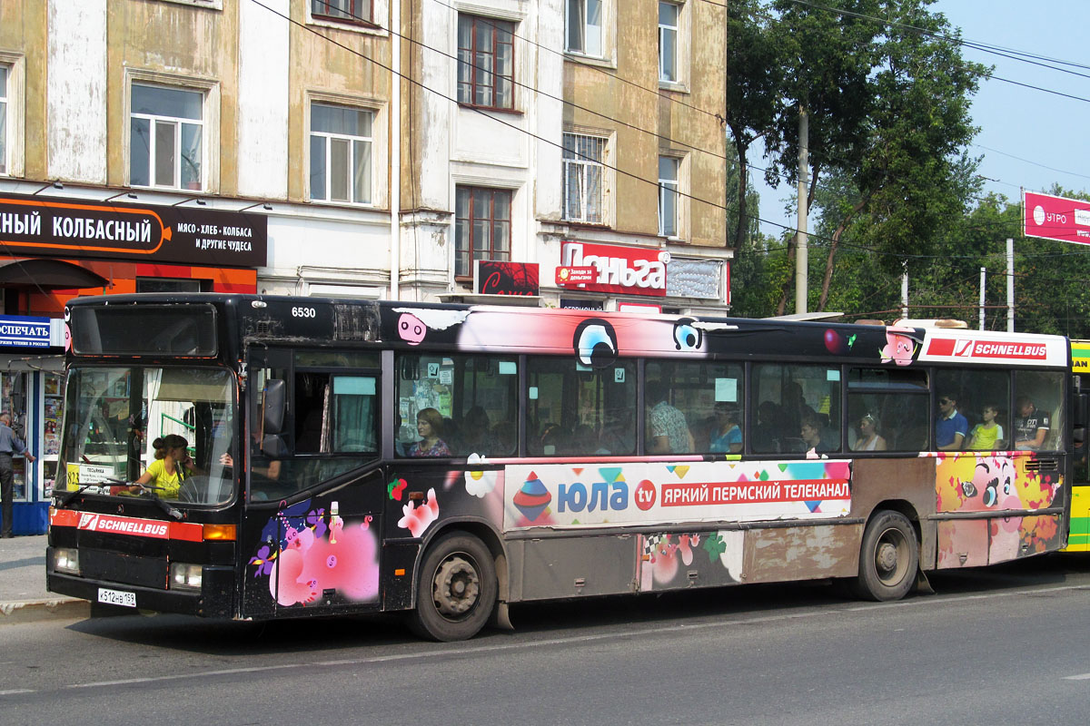 Perm region, Mercedes-Benz O405N # К 512 НВ 159