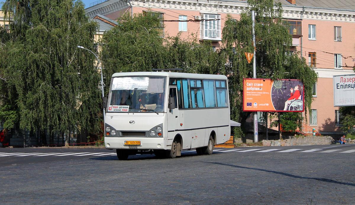 Poltava region, I-VAN A07A1-30 # ВІ 4454 АА