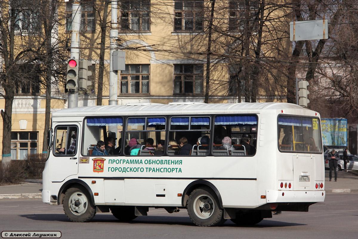 Voronezh region, PAZ-32054 (40, K0, H0, L0) # Х 979 АЕ 136
