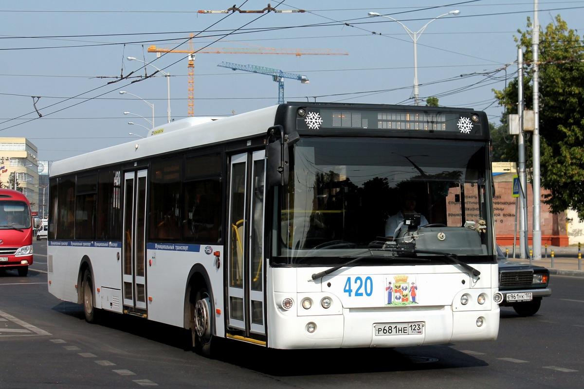 Krasnodar region, LiAZ-5292.22 (2-2-0) # 420
