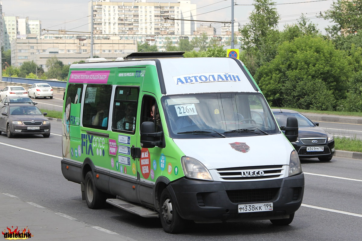 Moscow, Samotlor-NN-32402 (IVECO Daily 50C15VH) # М 338 КК 199