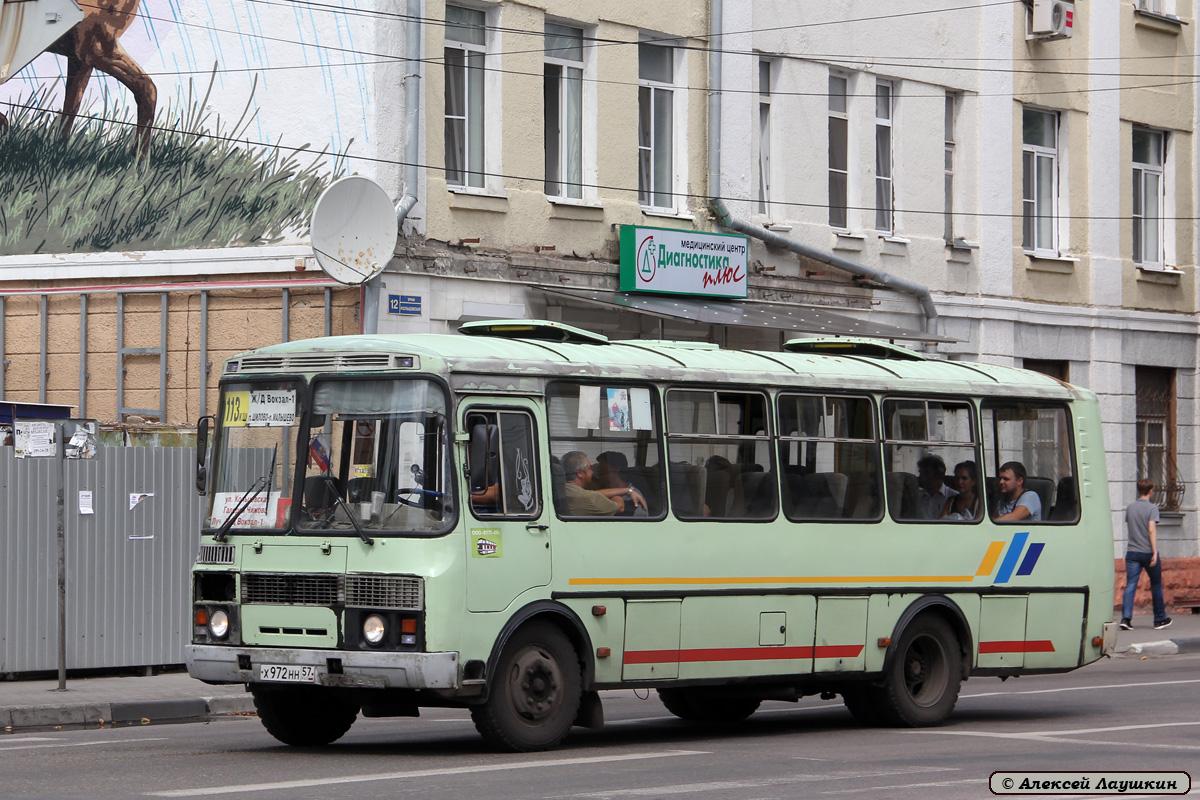Voronezh region, PAZ-4234 (00, T0, K0, B0) # Х 972 НН 57