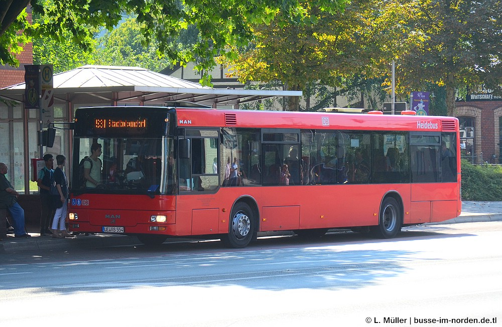 Germany, MAN A20 NÜ283 # 554