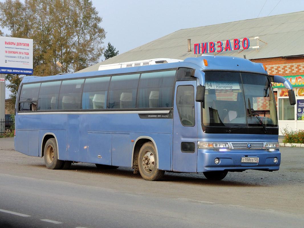 Primorskiy region, Kia Granbird # С 158 ЕЕ 125